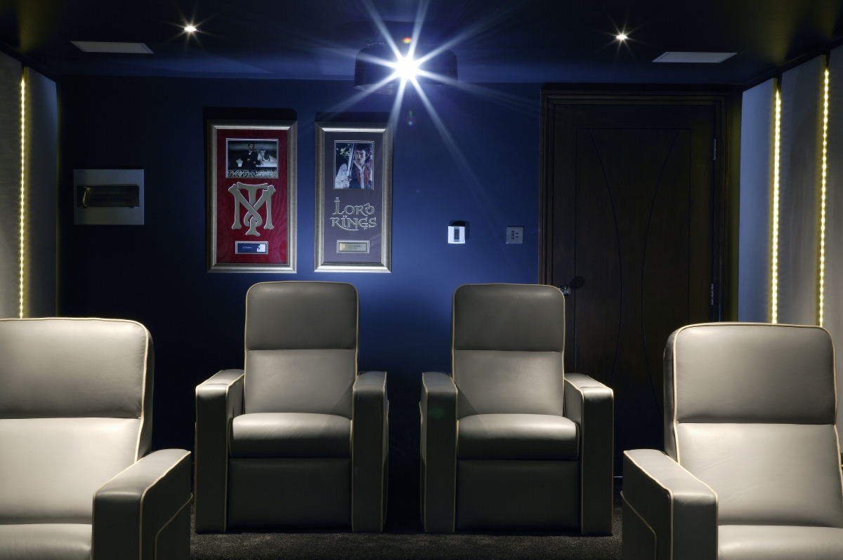 Home cinema design london id e inspirante for Sejour cuisine 40m2