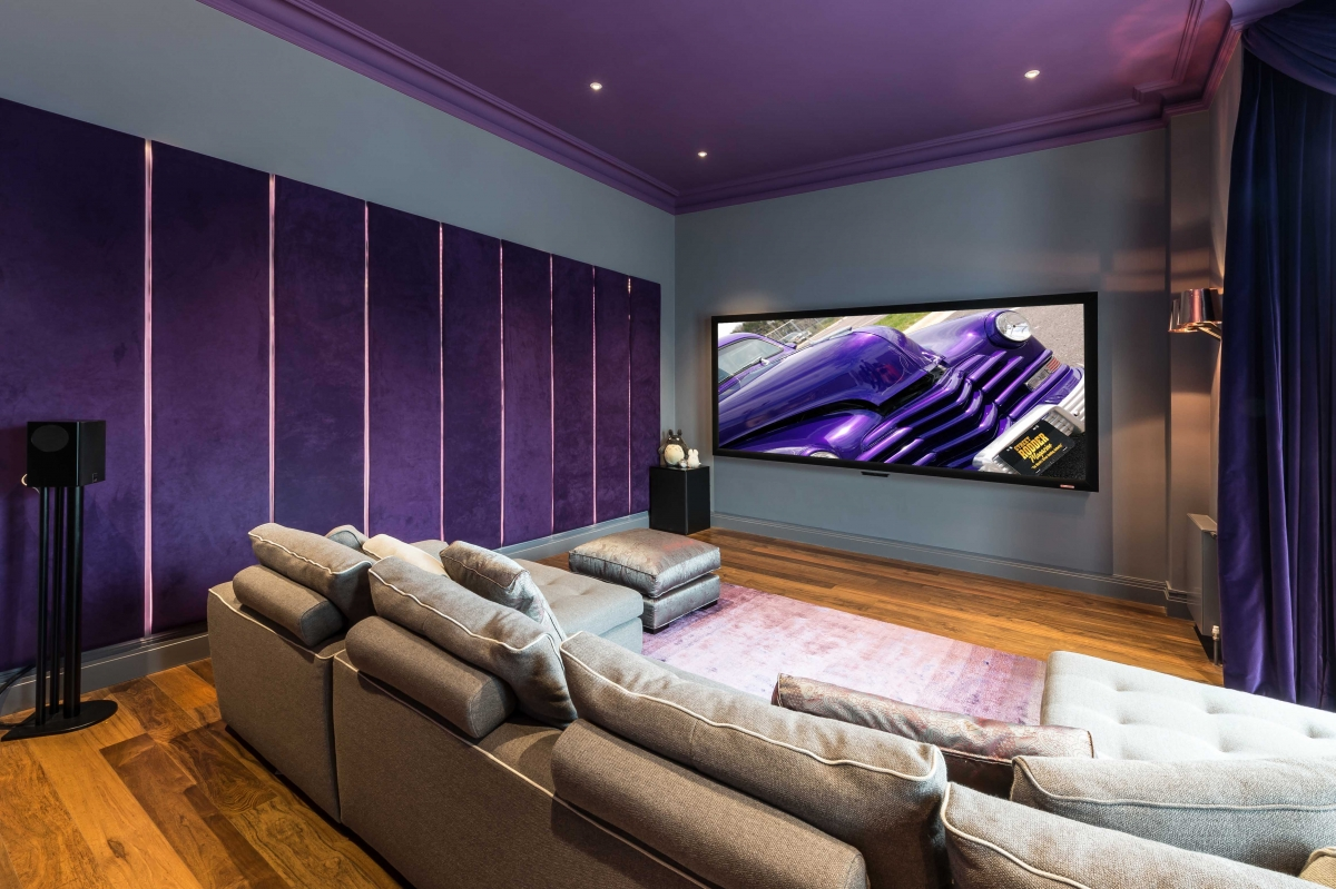 Home cinema, North London