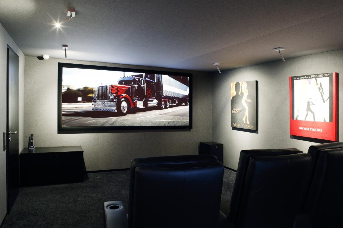 Basement cinema, north London
